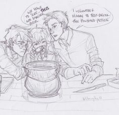 Harry, Hermione, & Ron - Burdge Bug