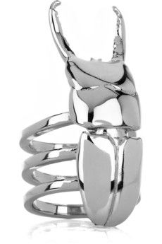 Beetle ring. I find this very cool.