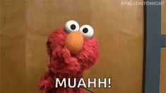 The perfect Elmo Muah Kiss Animated GIF for your conversation. Discover and Share the best GIFs on Tenor. Cartoon Gifs, Cartoon Characters, Elmo, Whatsapp Clips, Kiss Animated Gif, Les Muppets, Animated Emoticons, Love Hug, Jim Henson