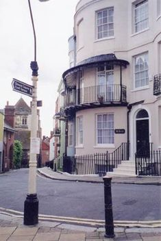 """No. 31 Croft Street, Hastings, England --- the home of DCS Christopher Foyle in """"Foyle's War."""""""