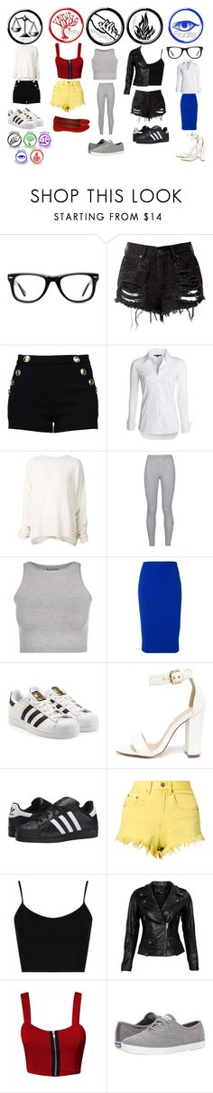 """""""Outfit 119"""" by tfryer ❤ liked on Polyvore featuring Muse, Boutique Moschino, NIC+ZOE, URBAN ZEN, NIKE, Free People, Victoria Beckham, adidas Originals, Liliana and Bitching & Junkfood"""