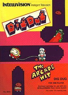 38 Best Dig Dug Images Vintage Video Games Arcade Games Classic