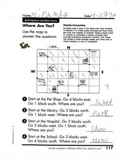 Have students create their own mapquest.