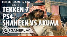 Tekken 7 Shaheen V Akuma - PS4 Gameplay