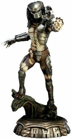 Predator Predator Statue by Sideshow Collectibles Star Wars Boba Fett, Star Wars Clone Wars, Star Wars Art, Lego Star Wars, Star Trek, Predator 1, Star Wars Action Figures, Human Skull, Star Wars Poster