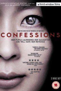Confessions - 2010  Kokuhaku  Tetsuya Nakashima  Takako Matsu, Yoshino Kimura and Masaki Okada