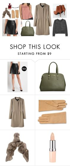 """New Booties :-)"" by alexandra-ela ❤ liked on Polyvore featuring Avenue, Vanessa Bruno Athé, Yves Saint Laurent, Rimmel and Nina Ricci"