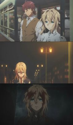 The hype is justified! The art and character designs are so good! Feels like it came from a movie cut! This is why I love KyoAni so much. Art Manga, Anime Manga, Anime Art, Violet Evergreen, Violet Evergarden Anime, Kyoto Animation, Satsuriku No Tenshi, A Silent Voice, Anime Couples Drawings