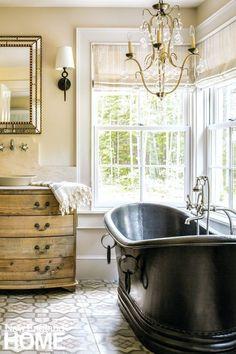 European Elegance In Cumberland Maine. Classic White BathroomsHouse And Home  ...