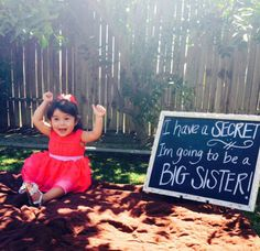 Big sister announcement