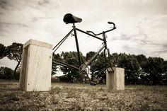 #bicicletta #scultura #art
