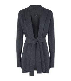Harrods of London Belted Cardigan | Lovely--just slide the tie off to the side.