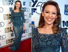 Kylie Minogue In Dolce & Gabbana - 'Holy Motors' New York Film Festival Premiere