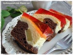 Cake nature fast and easy - Clean Eating Snacks Easy Cake Recipes, Sweet Recipes, Baking Recipes, Dessert Recipes, Polish Desserts, Polish Recipes, Food Cakes, Cupcake Cakes, Cupcakes