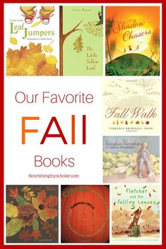 Our Favorite Fall Books: Changes in the seasons results in changes in the seasonal books on our shelves. I hope you enjoy some of our fall favorites! Poetry Books For Kids, Books For Boys, Childrens Books, Good Books, Autumn Activities For Kids, Book Activities, Homeschool Curriculum, Homeschooling, Homeschool Books
