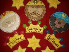 Natali's cooking: Navidad. Galletas Reyes Magos