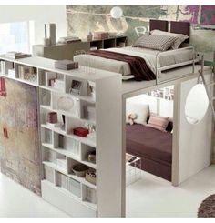 Immagine di room, bed, and bedroom