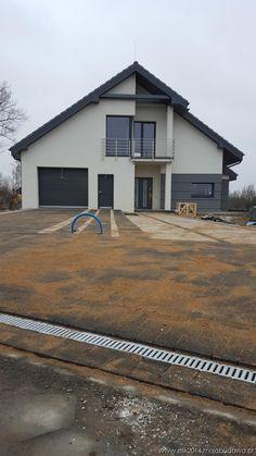 Блог MojaBudowa.pl Дом ОТЛИЧНО 3 строит elik2014 - онлайн строительство журнала… Garage Doors, Exterior, Gardening, Outdoor Decor, Home Decor, Home Plans, Decoration Home, Room Decor, Lawn And Garden