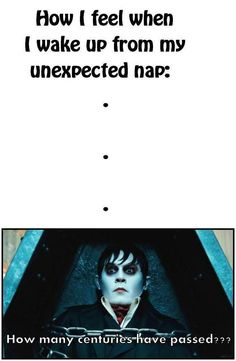 funniest thing ever, college life, hilari, naps funny, dark shadows