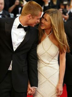 All about Jennifer Aniston and Brad Pitt - their love story.