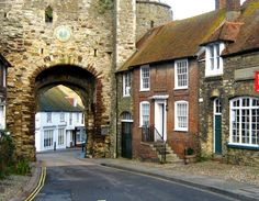 Rye, Sussex, England, UK. Rye used to be surrounded by sea but no longer.
