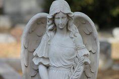 Bonaventure Cemetery Bonaventure Cemetery, Garden Sculpture, Angels, Outdoor Decor, Pictures, Photos, Angel, Grimm, Angelfish