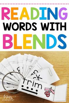 Need reading intervention ideas for your struggling readers? Use these fun printable read and reveal activities to help students blend sounds together to form words. Kids will love these word work games and can put them to use for short vowel practice in kindergarten and first grade literacy centers. #readingintervention #readandreveal #Kindergarten #shortvowels