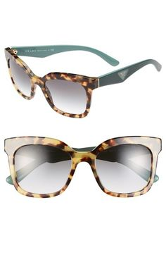 c602aebc887 Free shipping and returns on Prada  Triangle Logo  53mm Sunglasses at  Nordstrom.com