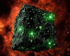 Borg cube - one of my fave bad guys from Star Trek