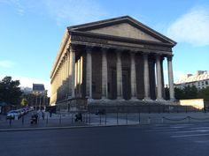 L'église de la Madeleine is a Roman Catholic church occupying a commanding position in the 8th arrondissement of Paris.