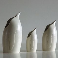 Anthony Theakston Ceramics - Bird Jugs