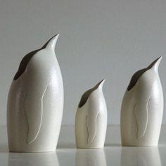 Anthony Theakston Ceramics - Bird Jugs