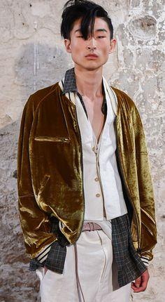 taur:  Kim Sang Woo for Haider Ackermann ss15