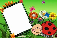 Maestra de Primaria: Marcos infantiles para fotos y marcos o bordes escolares Borders For Paper, Borders And Frames, Butterfly Crafts, Butterfly Art, School Border, Baby Posters, Frame Background, Class Decoration, My Little Pony