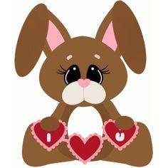 Silhouette Design Store: love bunny i love u
