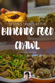 Are you in Manila and want to know some places where you can go to eat? Here you can find them with the rewiews of the foods. Tasting Treats at the Binondo Food Crawl via Drinking Around The World, Best Street Food, Philippines Travel, Best Places To Eat, Unique Recipes, Foodie Travel, Asia Travel, Traveling By Yourself, Bali
