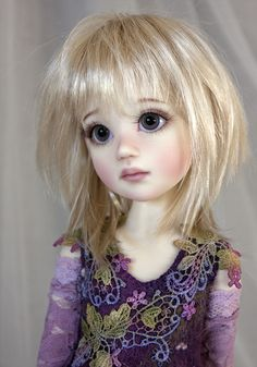 Luna - a little pixie (✿◠‿◠) | THE RESIN CAFE - doll by Liz Frost