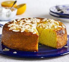 Moroccan orange & cardamom cake