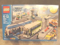LEGO 8404 PUBLIC TRANSPORT STATION Limited Edition TRU Complete Box