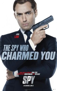 New trailer and five posters for the comedy SPY starring Melissa McCarthy, Rose Byrne, Jude Law and Jason Statham.