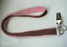 Lanyard.  Cute and functional.  Maybe for the husband, maybe the kids, maybe teacher gifts?