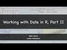 Introduction to R Programming: Getting Started With R (R Tutorial 1.1) - YouTube