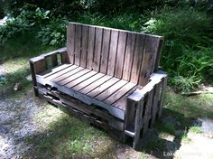 Pallet Outdoor Bench Seat