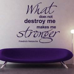 Makes Me Stronger Sticker - Moon Wall Stickers