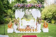 South Indian wedding mandap. Cape Town