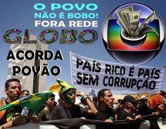 Bom dia, Brasil! Hoje é dia de #GloboGolpista50 nos TTs. A verdade é dura. A Globo é apoiou o Golpe e a Tortura.