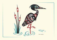 Heron by Israel Shotridge
