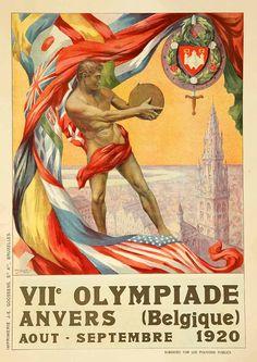 JUEGOS OLIMPICOS 1920 AMBERES