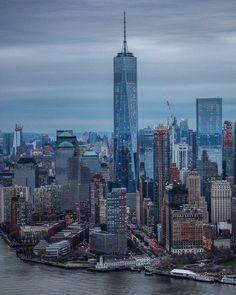 New York City Feelings - 1WTC by @DavidLaCombeNYC