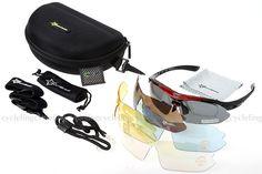 RockBros Polarized Cycling Sunglasses Bike Goggles Driving Running Sports Glasse
